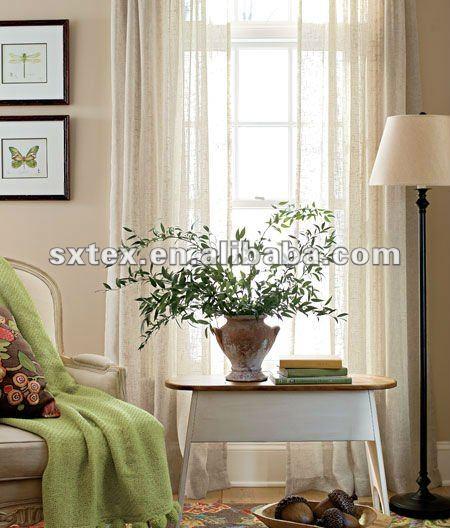 100 polyester faux leinen schiere vorhang faux leinen vorhang gardine produkt id 584319143. Black Bedroom Furniture Sets. Home Design Ideas