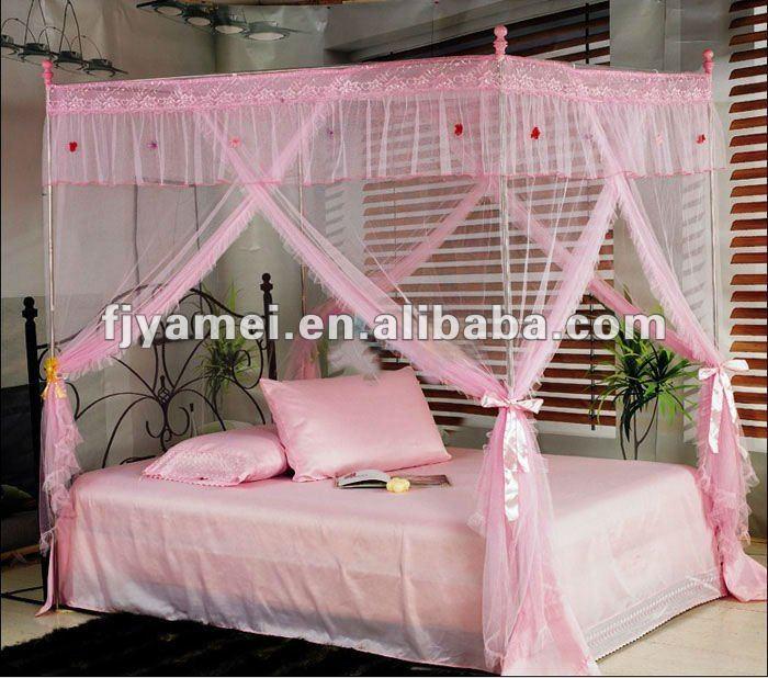 Tratados con insecticidas de mosquiteros para camas con for Mosquiteras para camas