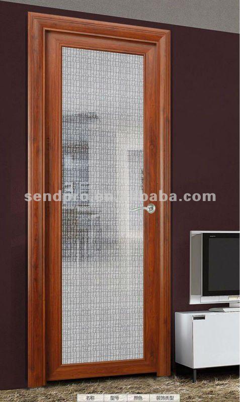 Puertas De Aluminio Para Baño Interior:decorativo interior puertas de cuarto de baño para la venta-Puerta