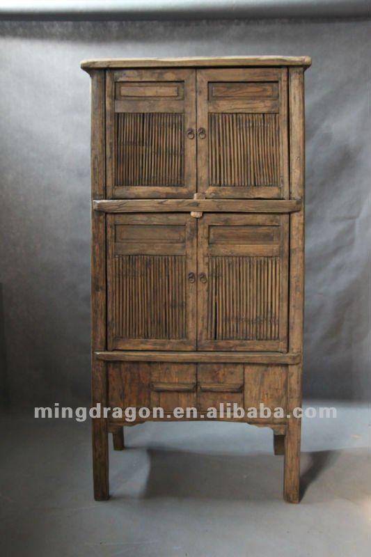 chino muebles antiguos de madera de pino de madera natural de color de