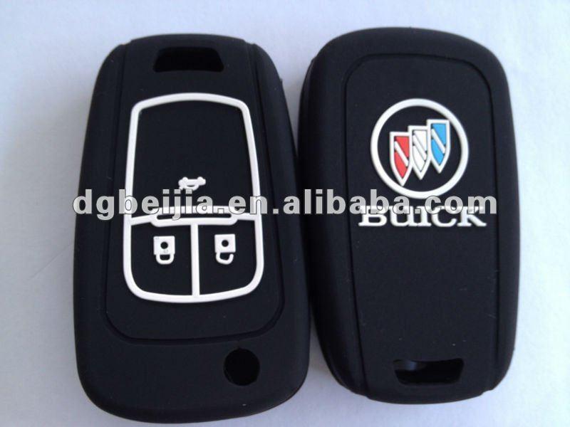 Eco - ambiente de silicona caso llave del coche para buick - spanish.