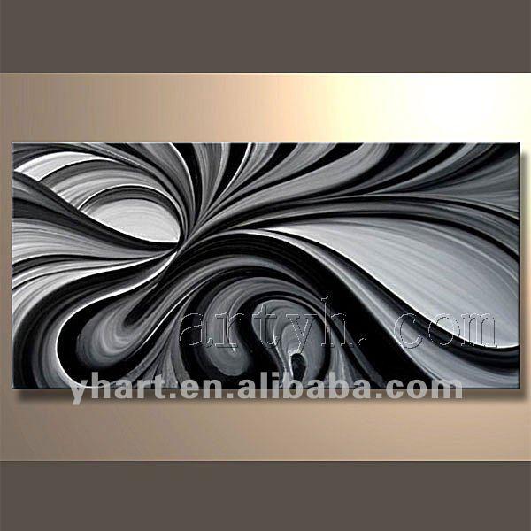 Modernos blanco negro cuadros en y oleo pelautscom tattoo - Cuadros modernos blanco y negro ...