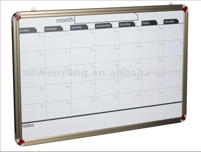calendrier magn tique effa able sec tableau blanc tableau blanc id du produit 596380213 french. Black Bedroom Furniture Sets. Home Design Ideas