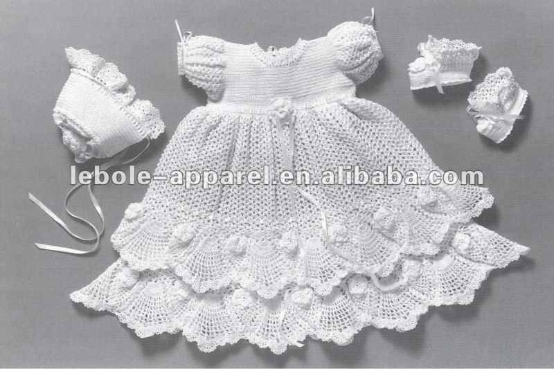 Free Crochet Baby Christening Gown Pattern