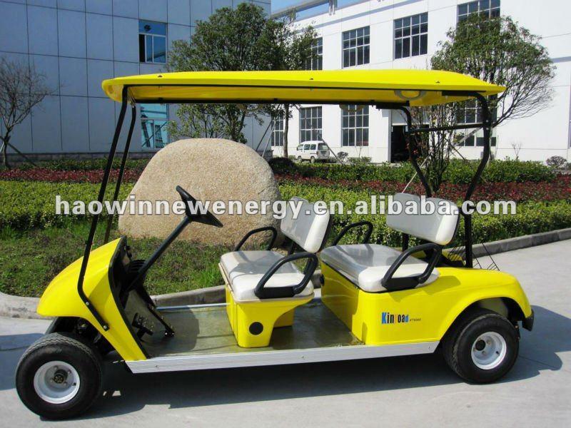 4 puro asientos de carro de golf eléctrico - spanish.