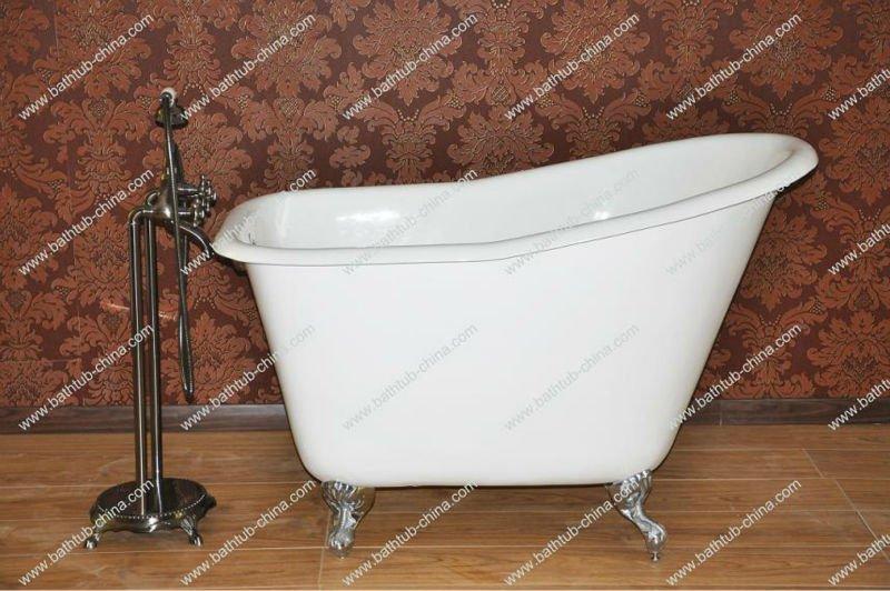Samll vasca per bambini e donne ghisa smaltata bagno vasca - Vasca da bagno bambini ...