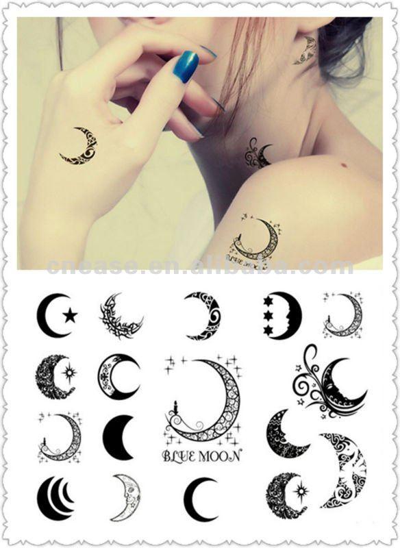 foto tatuaje luna: