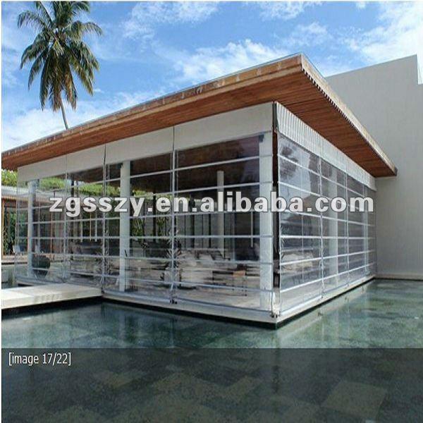 plein air pvc transparent rideau ridaux stores volets id du produit 605881929. Black Bedroom Furniture Sets. Home Design Ideas