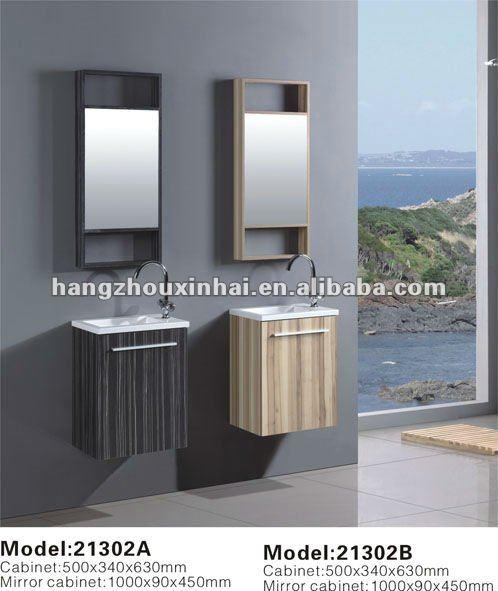 Piccolo montaggio a parete compensato melaminizzato mobili - Mobiletto bagno piccolo ...