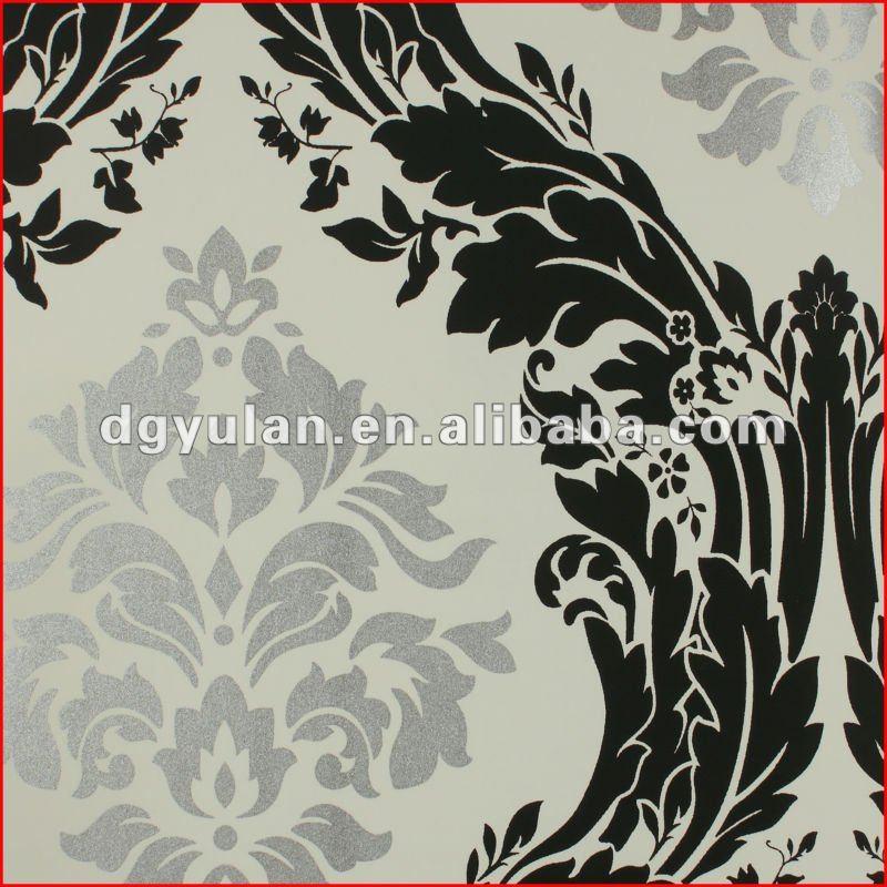 Elegante cl ssico damasco design requintado n o tecido de papel de parede italiano pap is de - Photowallpaperexquisitedesignonotherdesignideas jpg ...