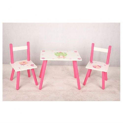 De colores de madera mesa con sillas para ni os mesa de - Mesas de colores para ninos ...