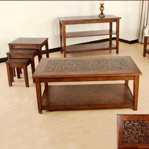 дунгуань моды деревянная мозаика журнальный столик ct-021