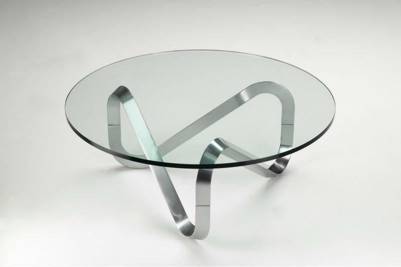 Стол журнальный 03.1.5. Стол стеклянный круглый