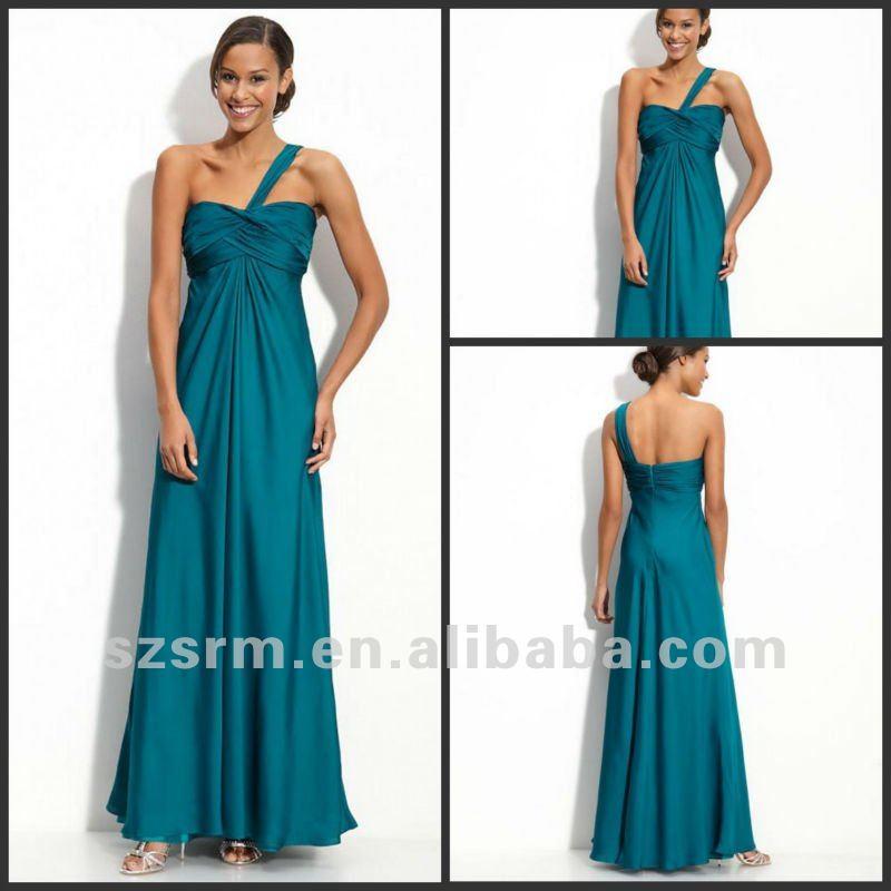 Corset Plus Size Long Bridesmaid Dress