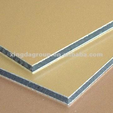 petillant couleur or acp panneau composite en aluminium panneau en aluminium composite id du. Black Bedroom Furniture Sets. Home Design Ideas