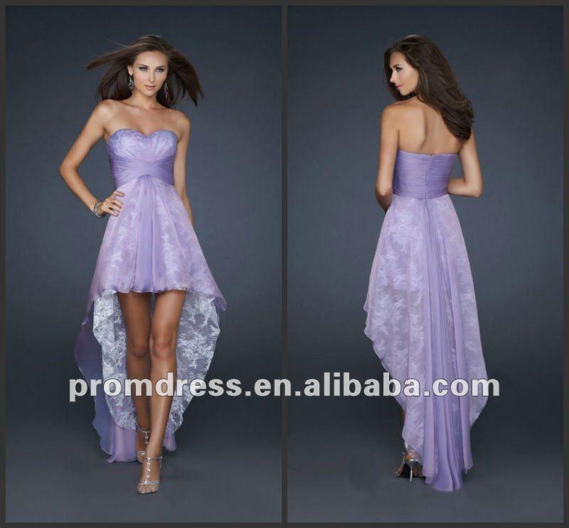 Vestidos de 15 a os Cortos Adelante y Largos Atras Moda Frente a Corto y Largo Atr s Vestido de Noche 2012 p Edb 47