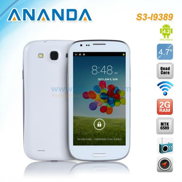 4.7'' андроид 4.1 i9300 mtk6577 китай android смартфон