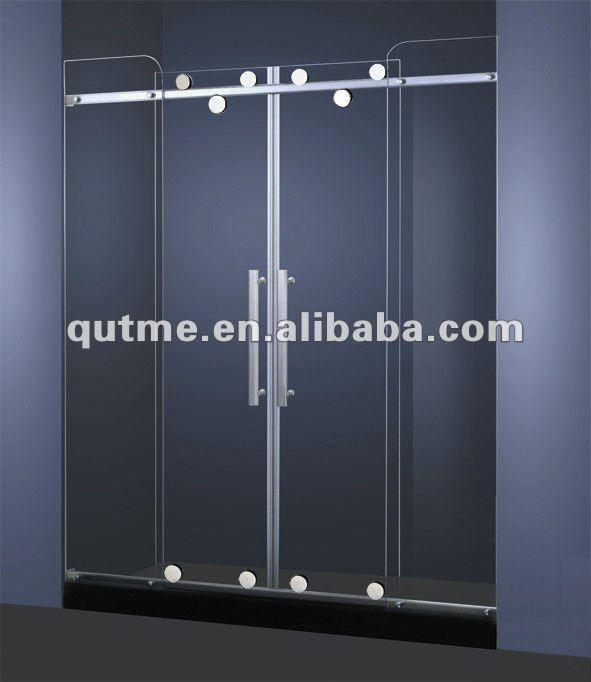 Duschwand Glas : mode gl?nzenden glas schiebet?ren duschwand-Dusche Zimmer-Produkt ID