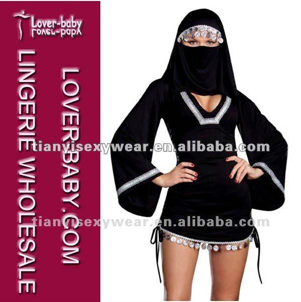 sexy traje de los países árabes de oriente medio traje de la mujer