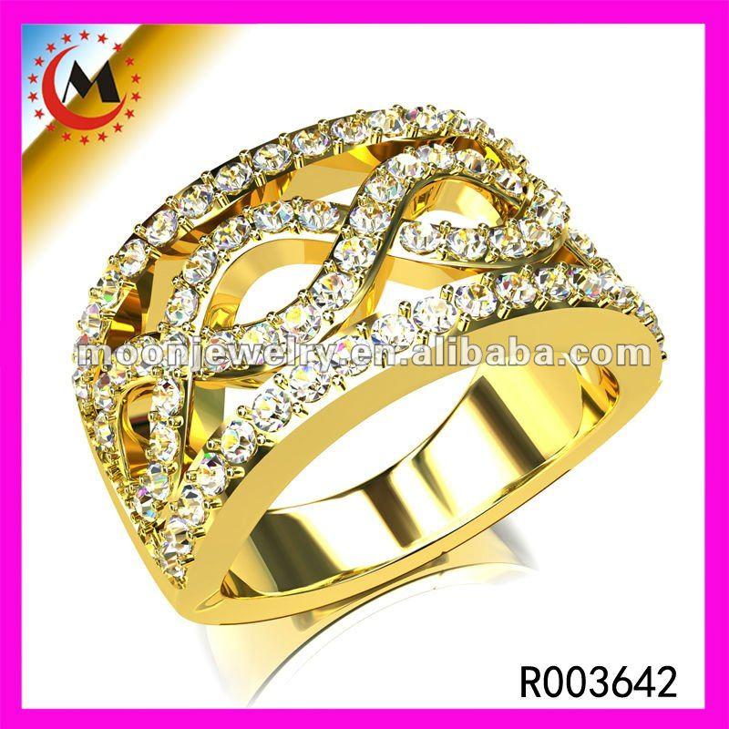 Кольцо с фианитом 72523
