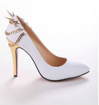 chaussures de mariée blanche 2013
