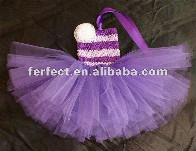 Superbe robe crochet pour les filles 6