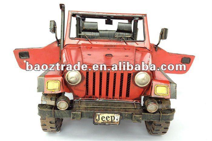 Ferro antigo modelo de carro rubicon portuguesealibabacom