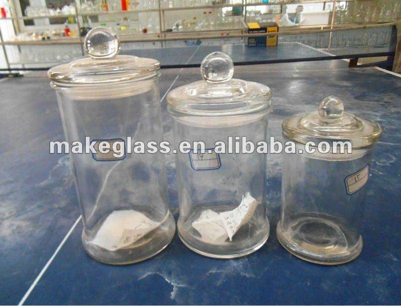 3 st ck glas kerze glas mit deckel kuppel leuchter produkt. Black Bedroom Furniture Sets. Home Design Ideas