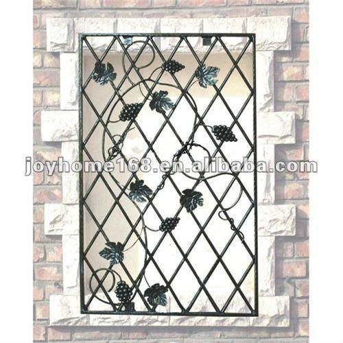Decorative Wrought Iron Window Grill Designs