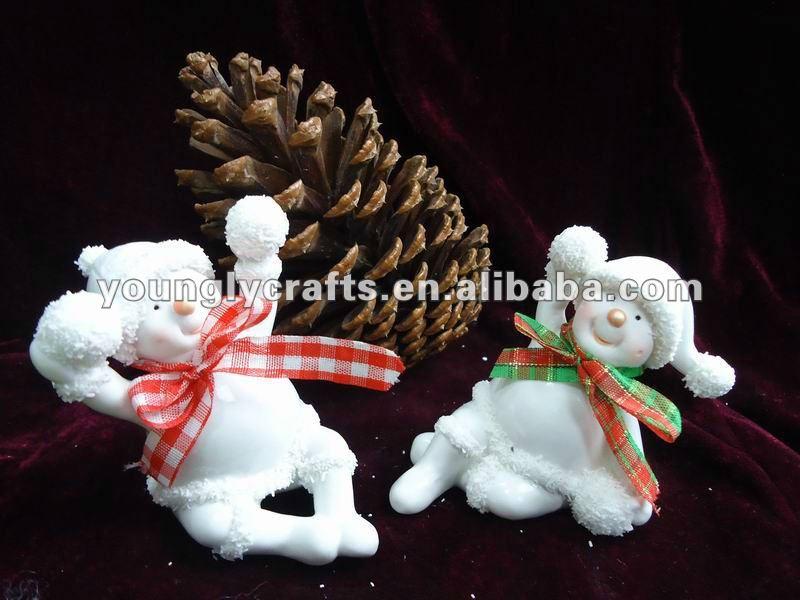 nuevo 2013 divertido blanco nieve navidad decoraciones de hombre