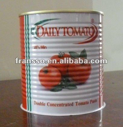 28 30% Lata De Extrato De Tomate 800g