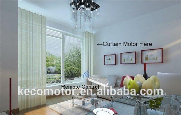 keco elektrischen vorhang motorisierte vorhang automatische vorhang system f r hotel vorhang. Black Bedroom Furniture Sets. Home Design Ideas