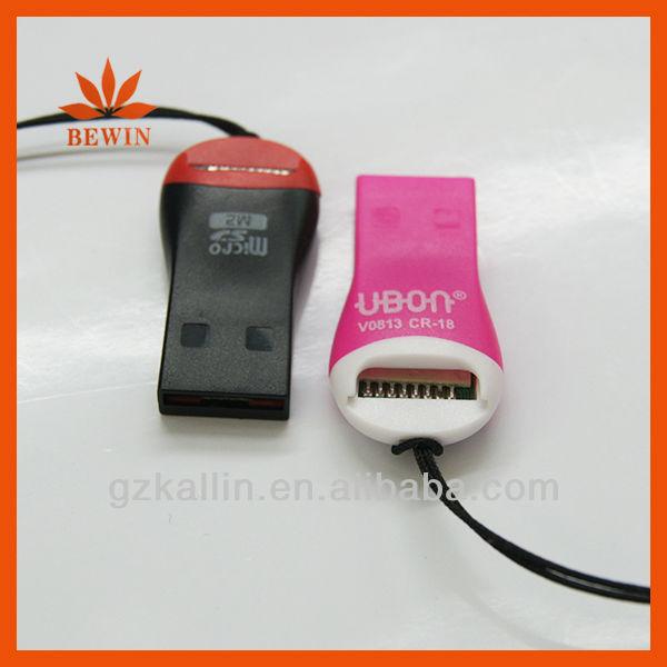 手笛USB 2.0のマイクロSDのカード読取り装置 手笛USB 2.0の