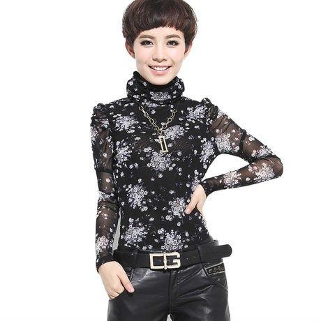 blusas da forma das mulheres 2012 xxl chiffon blusa estilo ...
