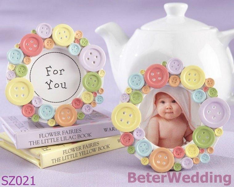 Baby shower a favor del marco de la foto sz021@shanghai beter regalos