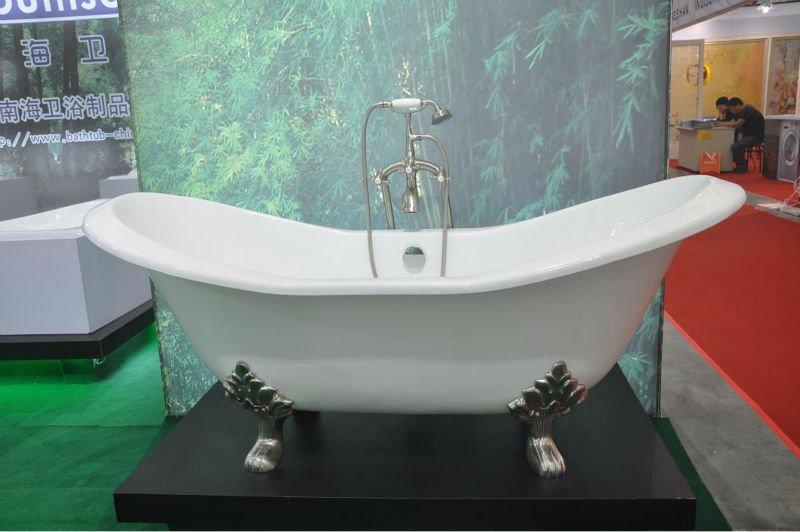 Vasca da bagno antica ghisa vasca da bagno con piedi leone vasca da bagno id prodotto 635968109 - Vasca da bagno con i piedi ...