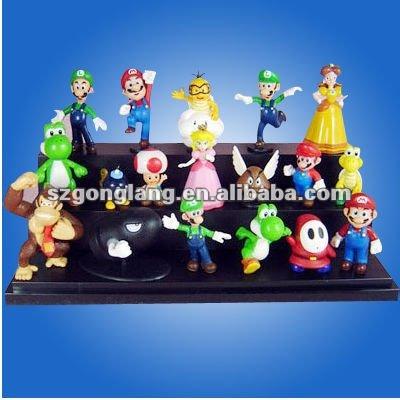 Super Mario Bros Lote Pcs El Hombre De Juguetes Mu Eca