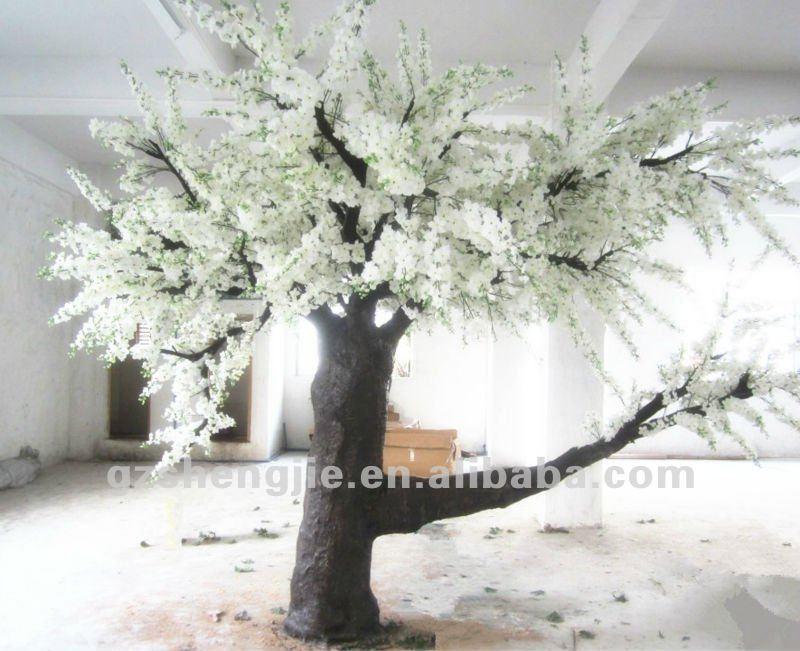 Sj nuevo dise o artificial de la flor de pera del rbol - Arboles artificiales grandes ...