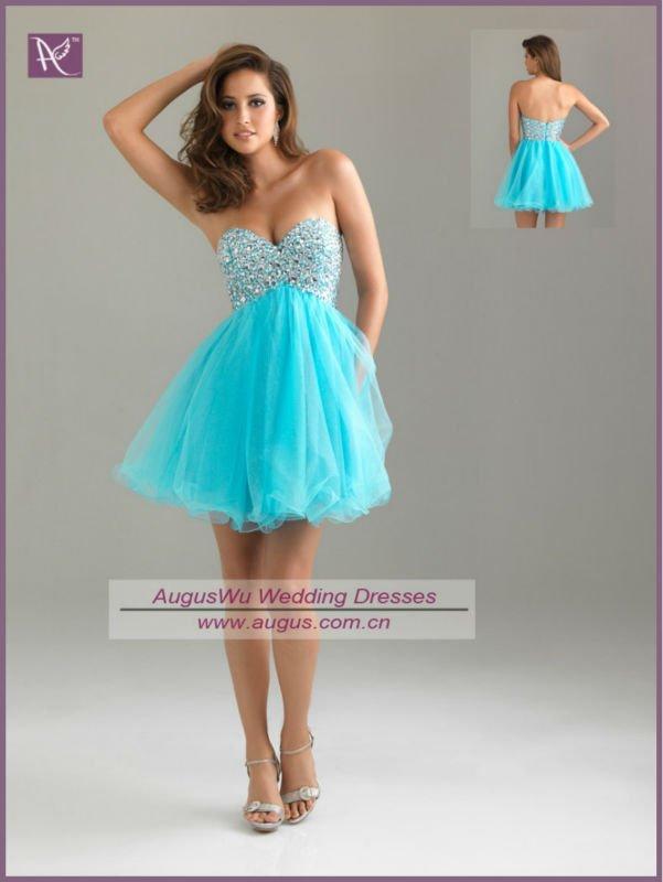 свадебные платья бирюзового цвета