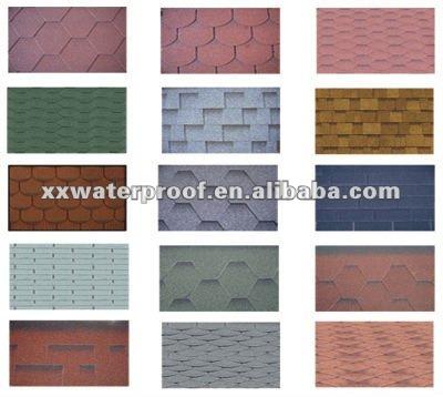 Asfalto material techos membrana impermeable for Tipos de techos de tejas