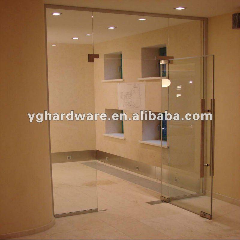 claro swing puertas de vidrio para el hotel yg s058 puerta