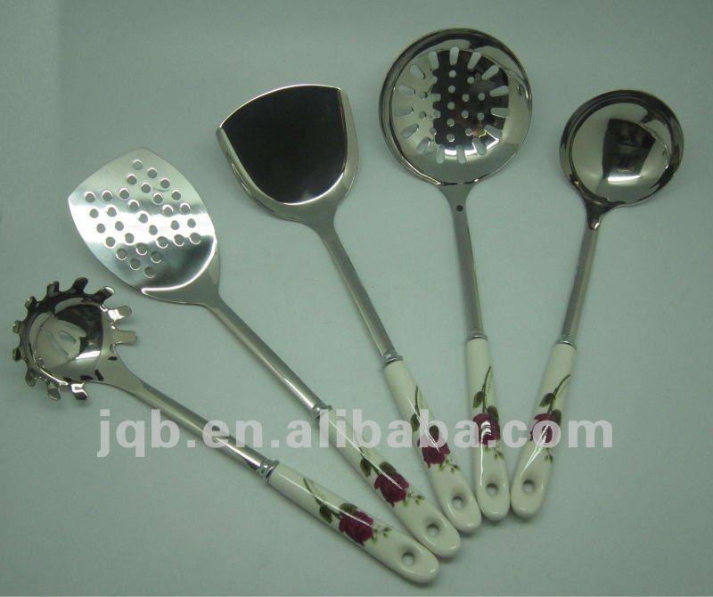 El ltimo restaurante utensilios de cocina sets cubiertos for Kitchen utensils in spanish