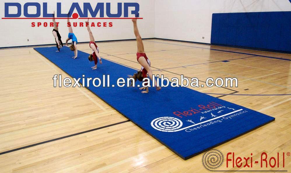 Gymnastik absturz matteflexi rollen cheerleading