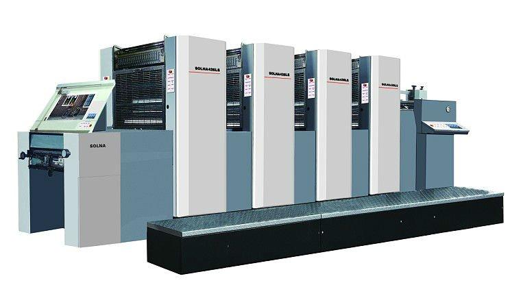 Nuevo solna425 ls máquina de impresión offset