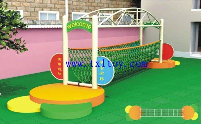 Kindergarden puente cuerda puente para los ni os tx 142e ni os juegos de ni os equipo de for Juegos para nios jardin de infantes