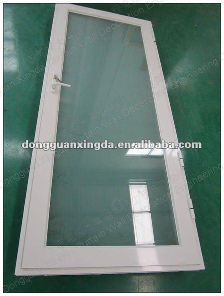 Puertas De Aluminio Blanco Para Baño:de aluminio de la puerta de vidrio opaco para su uso en los baños