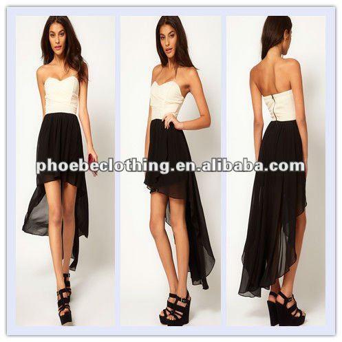Gasa plisada de moda diseños casuales de vestir al por mayor vestido