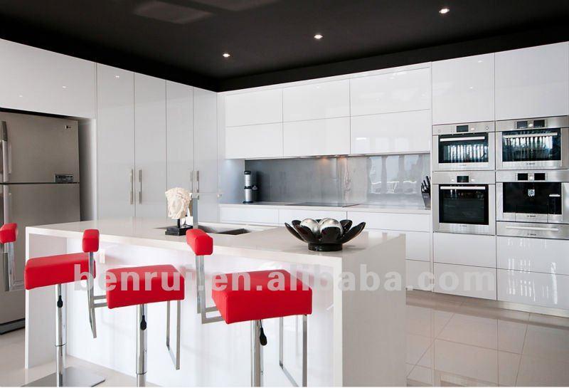 2 pac cuisson peinture blanc laque finition brillante for Cuisine blanc laque brillant