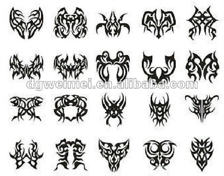 body stickers tribal símbolo del brazo cuerpo spanish.alibaba.comtribales adultos para del