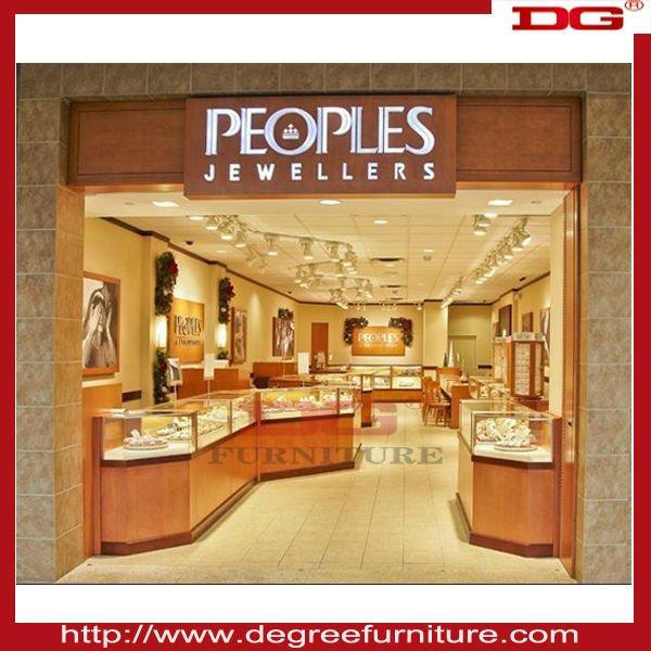 Jewelry Display Showroom Designs